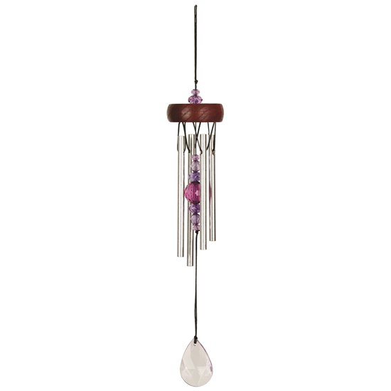 Woodstock Hanging Purple Wind Chime