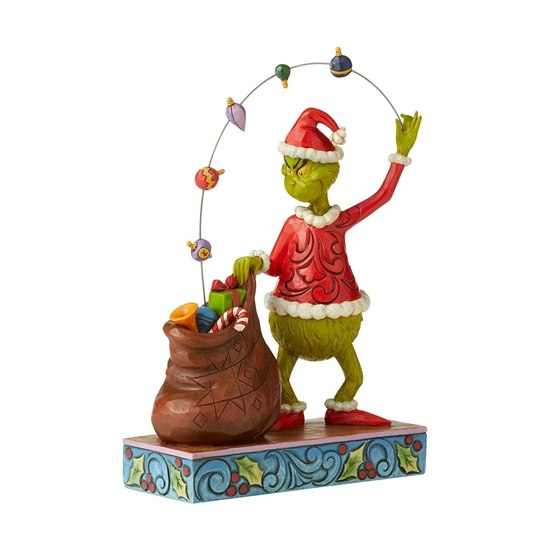 The Grinch Juggling Decorative Ornament