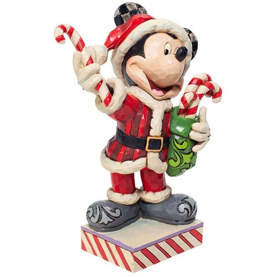 Disney Traditions Christmas Mickey Mouse Figurine