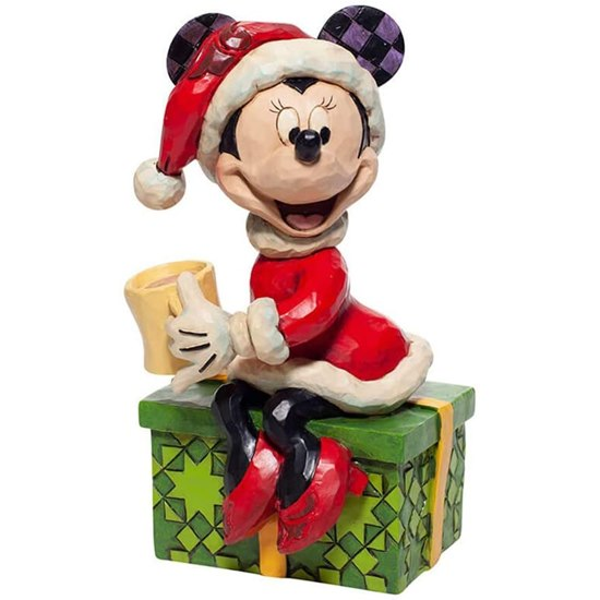 Disney Traditions Christmas Minnie Mouse Figurine