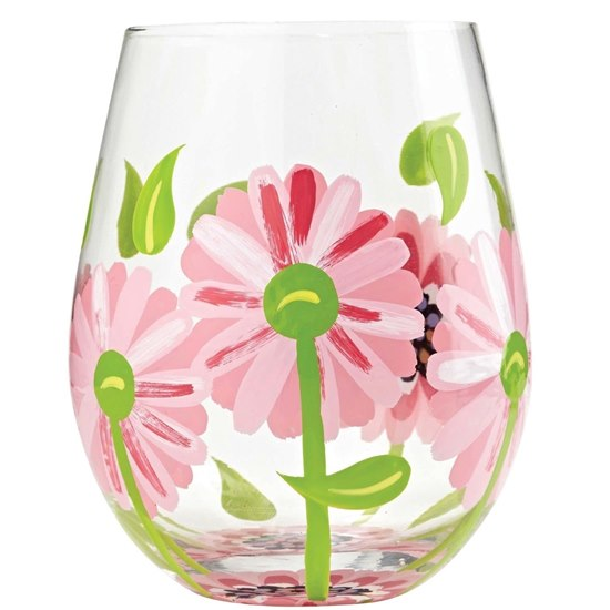 Lolita Oops A Daisy Stemless Glass