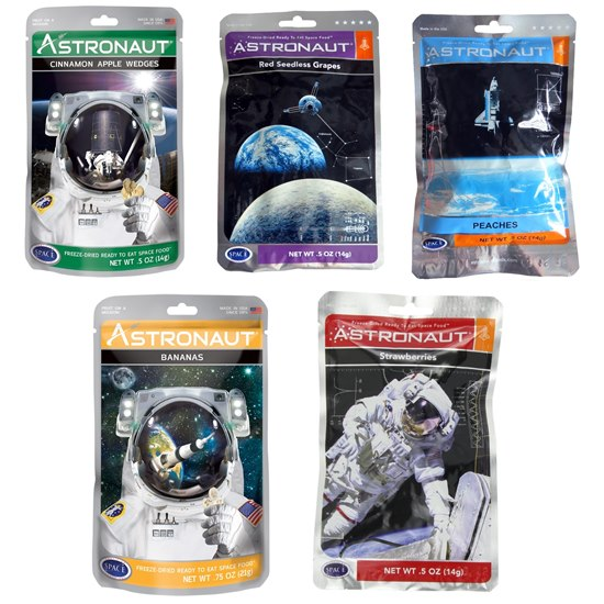 SFOODFRUIT Astronaut Space Food  -  Cinnamon Apple Wedges