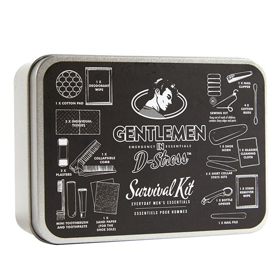 Gentlemen In D-Stress Survival Kit Tin