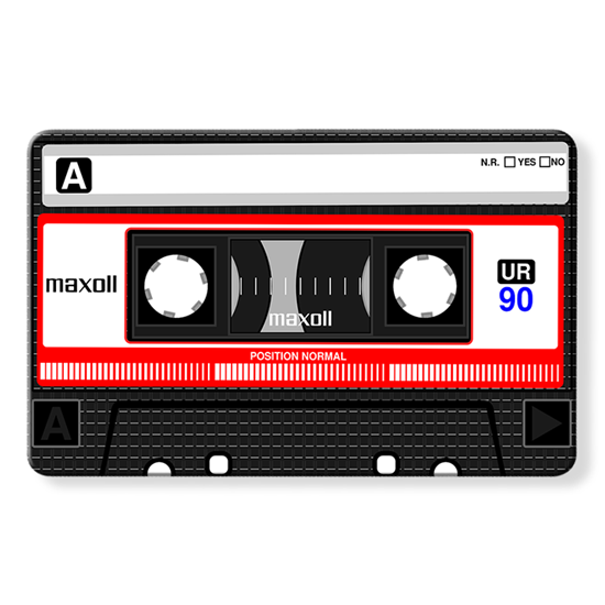 Myne Cards - The Retro Cassette Tape