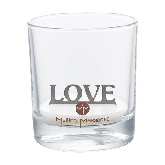 Love Scented Candle - Hidden Message