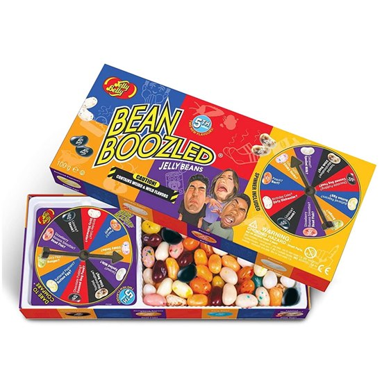 071567990516 Bean Boozled Weird & Wild Spinner Game