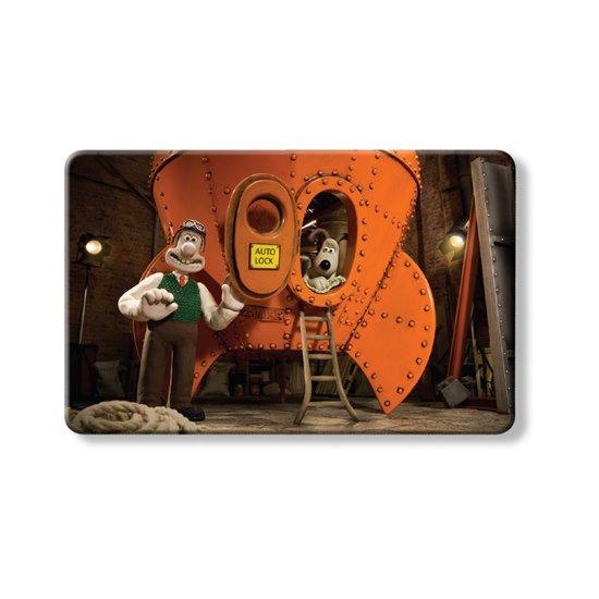 MYNECARDWALGROM Myne Cards x Wallace And Gromit- Reach For The Sky