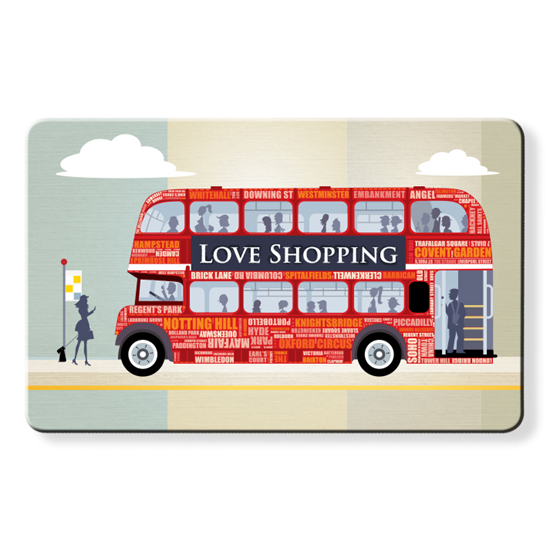 Myne Cards x Dom Vari - Shopping Bus London