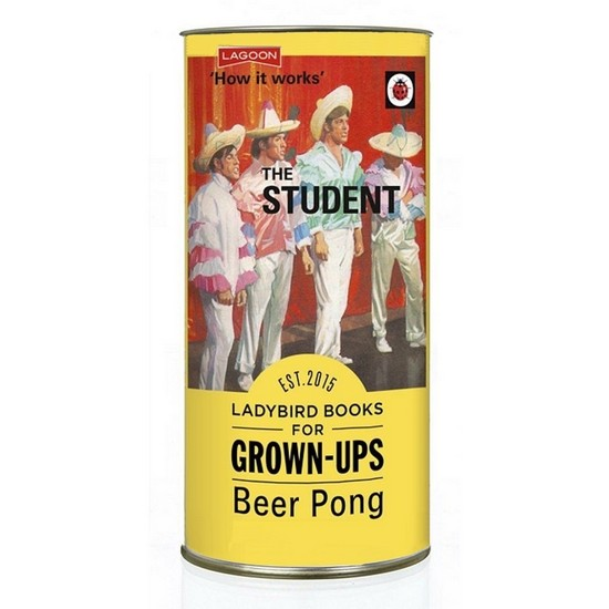 677666020750 Ladybird For Grown Ups Beer Pong