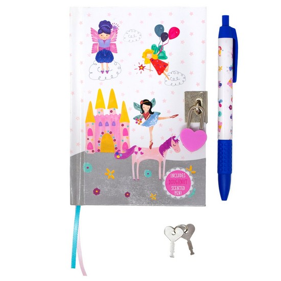 5055166345286  Fairy Unicorn Lockable Notebook with Scented Pen