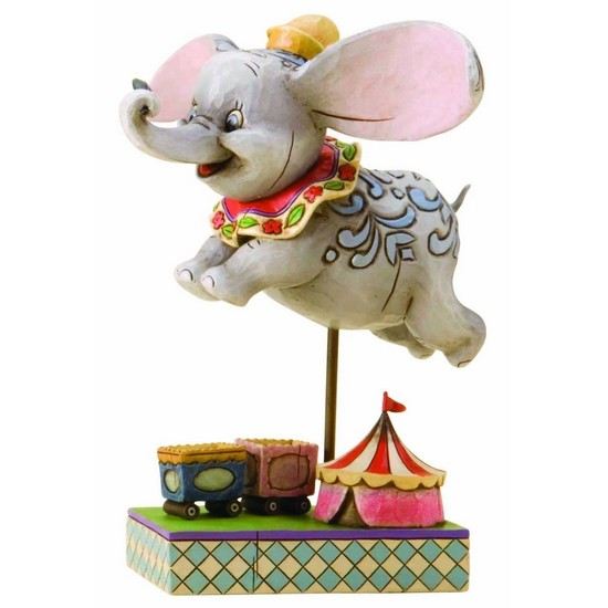 Faith in Flight Dumbo Figurine