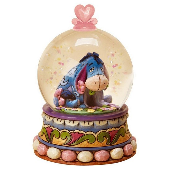 Gloom to Bloom Eeyore Snow Globe
