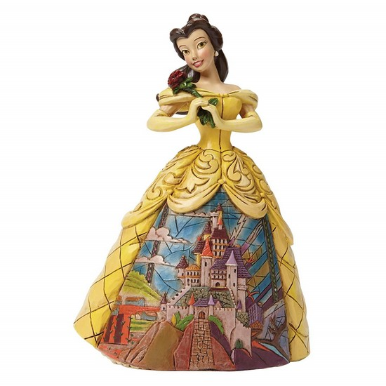 Disney Traditions Enchanted Belle Beauty & The Beast Figurine