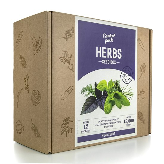 Garden Pack Herb Seed Box