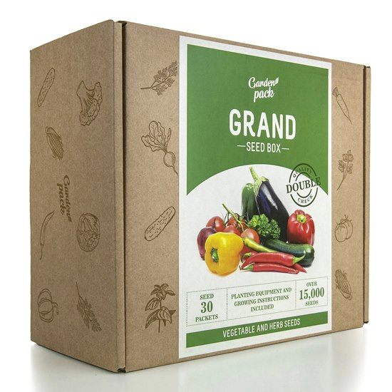 Garden Pack Grand Seed Box