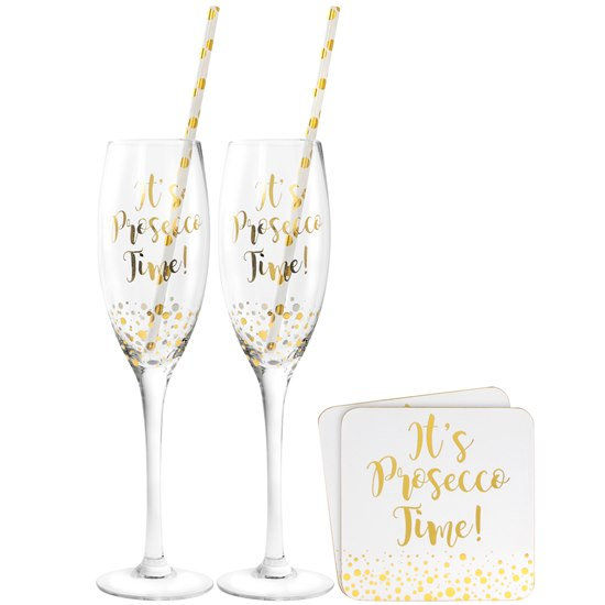 Gold Edition Prosecco Gift Set