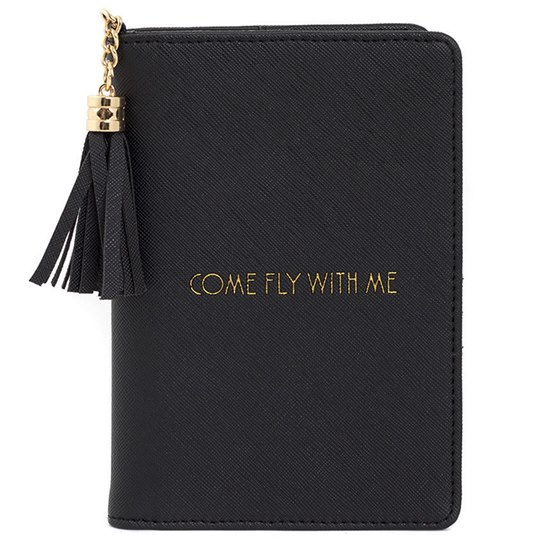 Shine Bright Come Fly with Me Passport Holder