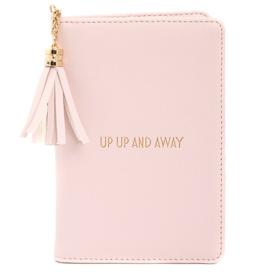 Shine Bright Up Up and Away Passport Holder