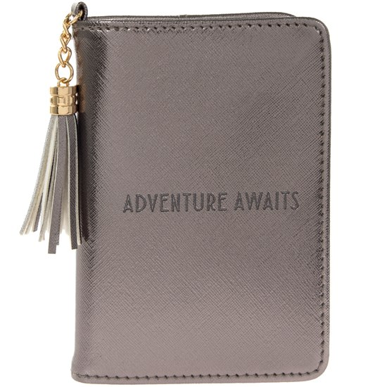 Shine Bright Adventure Awaits Passport Holder