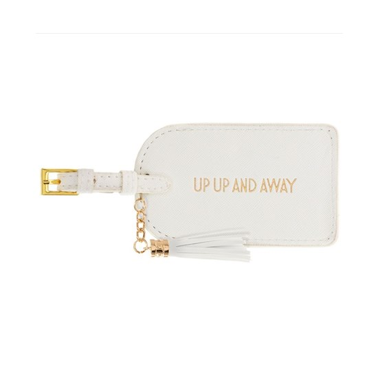 Shine Bright Up Up and Away Luggage Tag