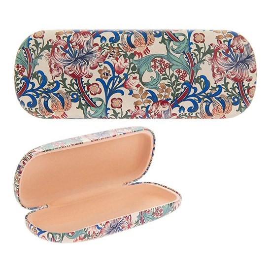 Glasses Case and Cloth Golden Lily