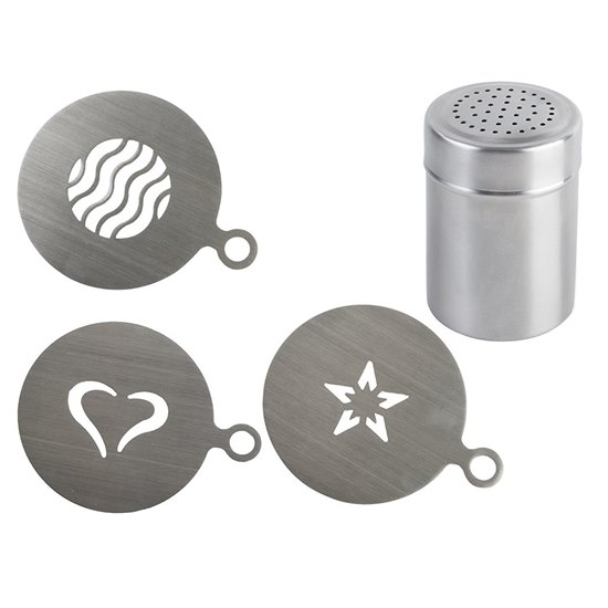 5011561007112 Cocoa Shaker and Stencils Gift Set