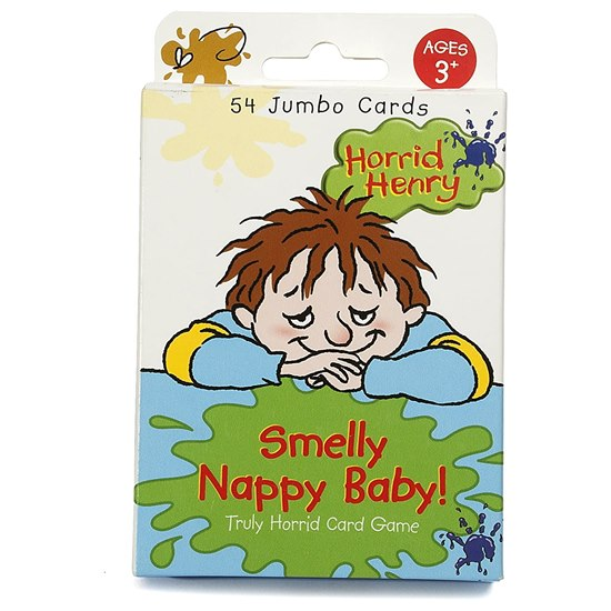 Horrid Henry Smelly Nappy Baby Card Game