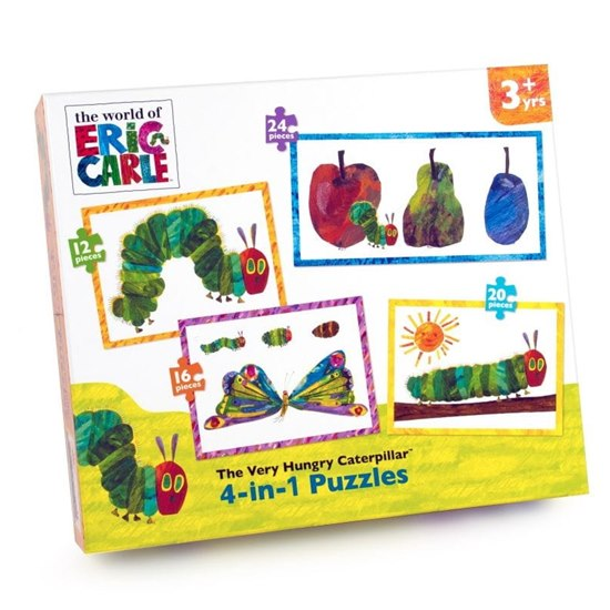 The Very Hungry Caterpillar 4-In-1 Kids Jigsaw Box Set