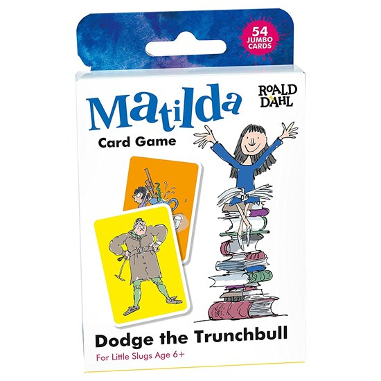 Roald Dahl - Matilda Dodge The Trunchbull Card Game