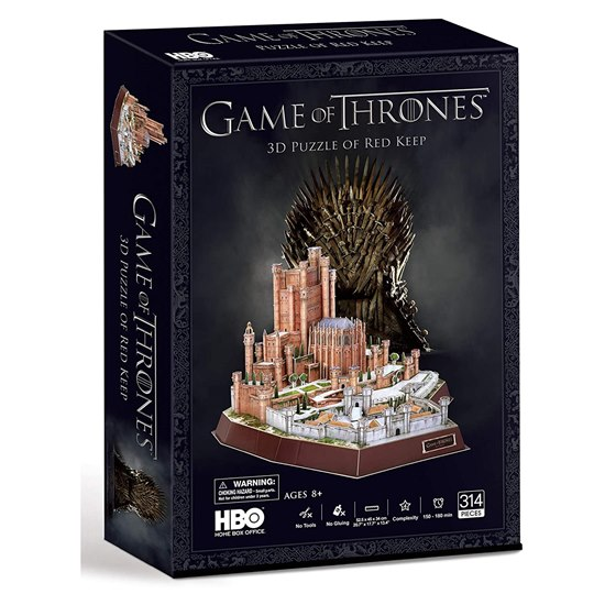 Game Of Thrones - Red Keep 3D Puzzle