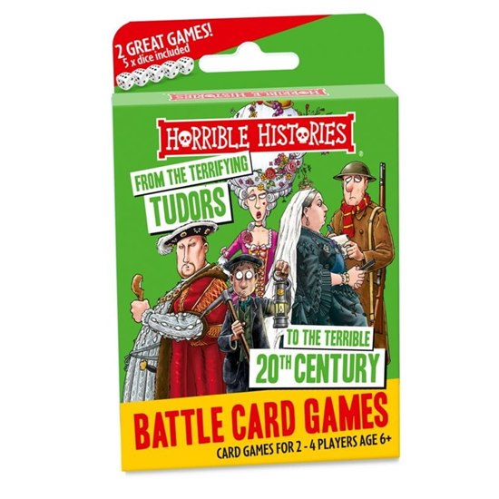 Horrible Histories Tudors Battle Card Game