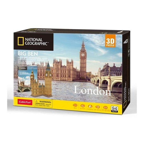 National Geographic- London Big Ben 3D Puzzle