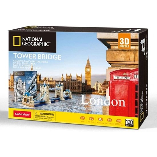 National Geographic- London Tower Bridge 3D Puzzle