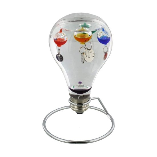Large Light Bulb Galileo Thermometer