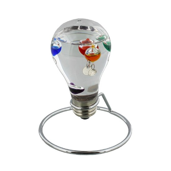 Small Light Bulb Galileo Thermometer