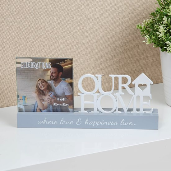 Celebrations Our Home 4x4 Photo Frame