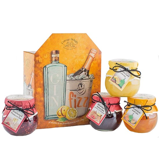 5021039021359 Gin And Fizz Gift Set