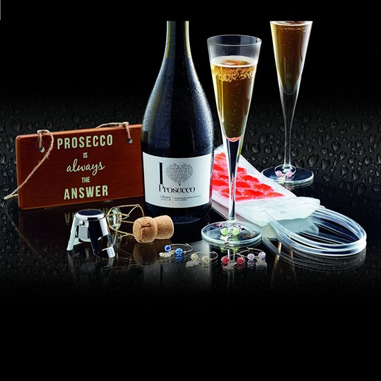 5028250667861 Barcraft Prosecco Lovers Gift Set
