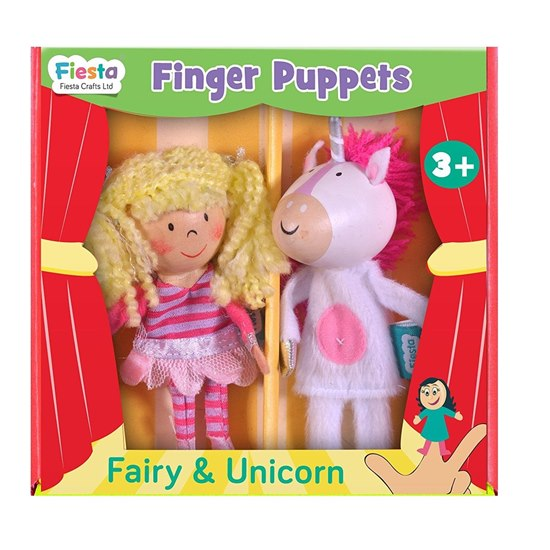 5034309115382 Fairy and Unicorn Finger Puppets