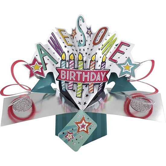 5034527254948 Awesome Birthday Pop Up Card