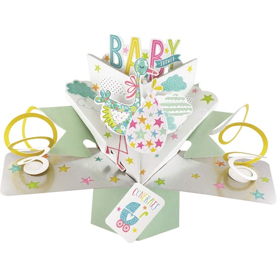 5034527277114 Baby Shower Pop Up Card