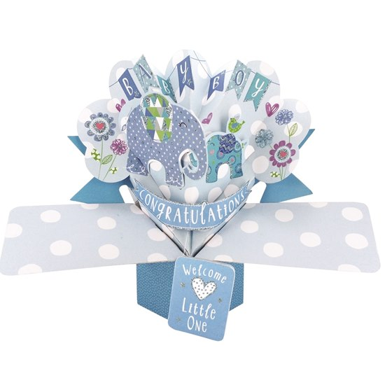 5034527277145 Baby Boy Pop Up Card