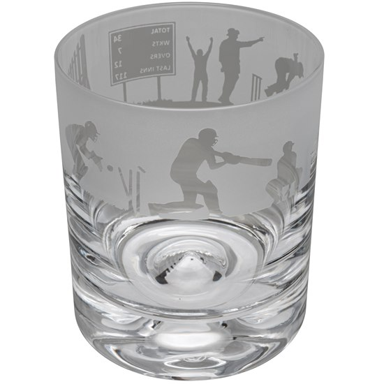 ANIMOT17SP Animo Glass Cricket Crystal Tumbler