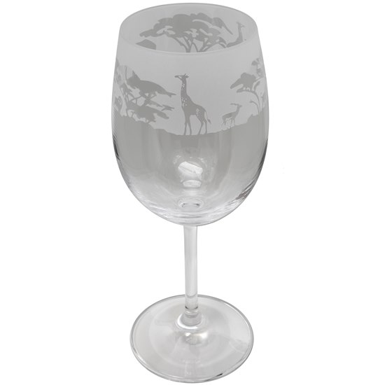 ANIMOT38 Animo Glass Safari Crystal Wine Glass
