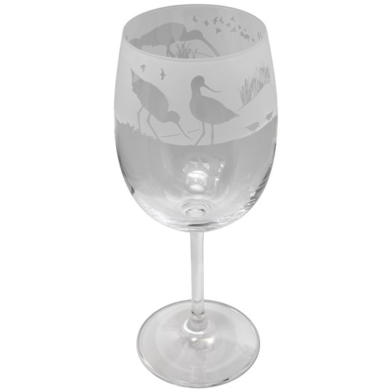 5035221010809 Animo Glass Wading Birds Crystal Wine Glass