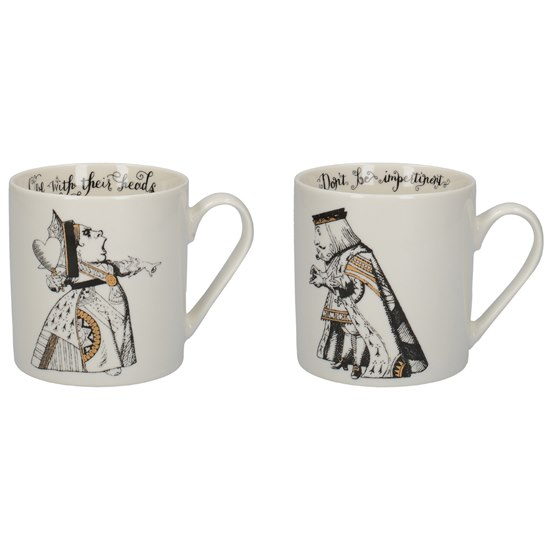 5050993345157 Alice In Wonderland His Hers Can Mugs