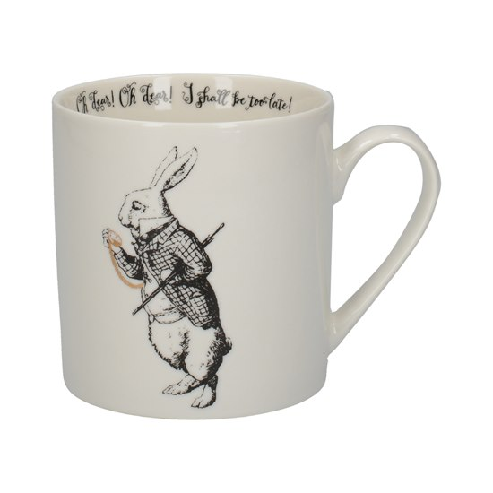5050993345164 Alice In Wonderland White Rabbit Can Mug