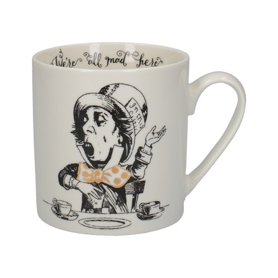 5050993345188 Alice In Wonderland Mad Hatter Can Mug