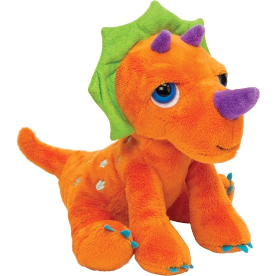 Dinoz Triceratops Soft Toy Small