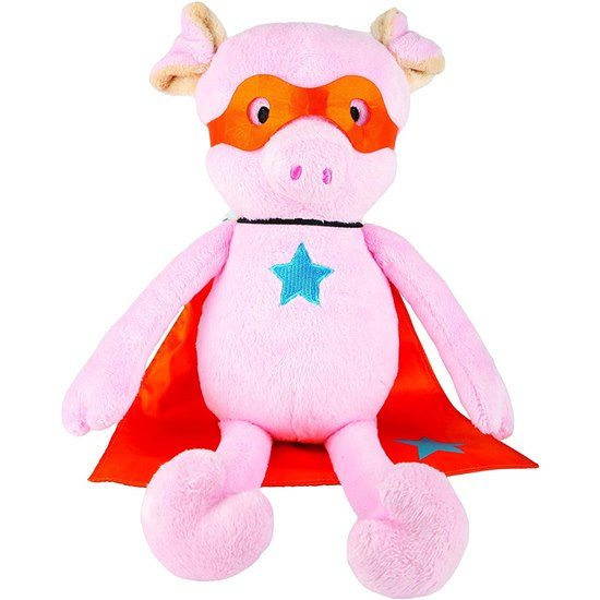 Suki Superhero Power Pig Plush Toy